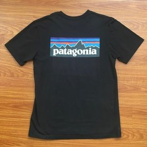 PATAGONIA GREY TEE SHIRT